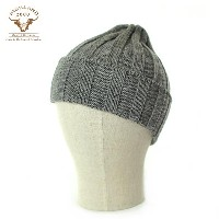 HIGHLAND 2000 ハイランド2000 4×4 BOBCAP WOOL KNIT CAP (STEEL)