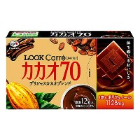 不二家 LOOK Carre カカオ70% 57g