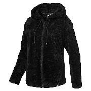 プーマ TEDDY HOODED JACKET ウィメンズ Puma Black