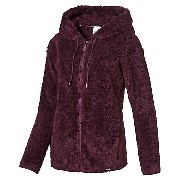 プーマ TEDDY HOODED JACKET ウィメンズ Winetasting