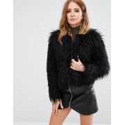 Millie Mackintosh Faux Fur Mongolian Jacket ジャケット【02P03Dec16】