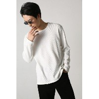 AZUL by moussy ヘビーワッフルクルーネック長袖T アズールバイマウジー【送料無料】