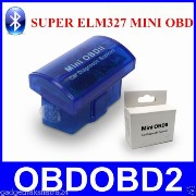 zmart ELM327 黒 OBD2 Bluetooth Android ドングル