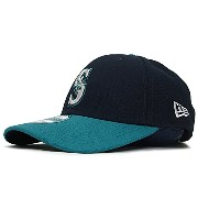 (ニューエラ)NEW ERA SEATTLE MARINERS 【PINCH HITTER 9FORTY ADJUSTABLE/NAVY-TEAL】シアトル マリナーズ 9FORTY アジャスタブル ロ...