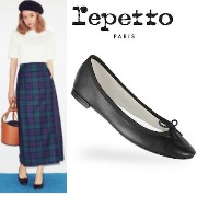 repettoレペット*MORE9月号掲載*秋冬新色Ballerine Cendrillon repetto(レペット) バイマ BUYMA