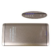 Topbatt Portable Charger Power Bank 10000mah 2-output External バッテリー Charger with with Fuel ゲージ (Golden) 「汎用品」(海外取寄...