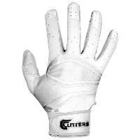 カッターズ メンズ 野球 グローブ 手袋【Cutters Prime Hero Pro Batting Gloves】White/White【10P03Dec16】