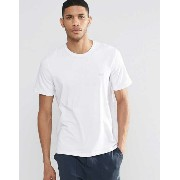 Hugo Boss Silver Logo Regular Fit T-Shirt Tシャツ in White