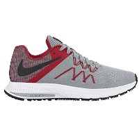 (取寄)ナイキ メンズ ズーム ウィンフロー 3 Nike Men's Zoom Winflo 3 Wolf Grey University Red White Black