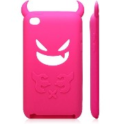 iPod Touch 4 Silicone Case(Rose) iPod Touch 4 悪魔 シリコンケースロゼ(全8色)(363-7)