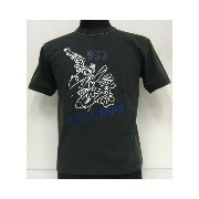 【40%OFF!】THE FEW(フュー)MILITARY Tee[OLD CROW BUD ANDERSON]【在庫処分品/返品・交換不可】BLK /ミリタリー/半袖Tシャ...