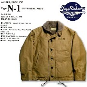 (バズリクソンズ) ★N-1 デッキジャケット 『N-1 DECK JACKET NAVY DEPARTMENT 40's MODEL』Made in JAPAN 2015New_Mod.【smtb-TK】