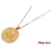 Hay Luv/baby language of LOVE necklace