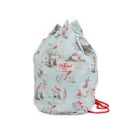Cath Kidston キャスキッドソン Duffle Bag Be A Good Sport Pale Blue