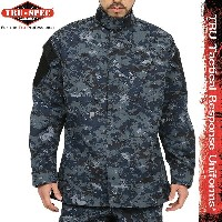 TRU-SPEC トゥルースペック 米軍 Tactical Response Uniform ジャケット NAVY Digital Camo (Midnight Digital) 1311【WIP03】 【クーポ...