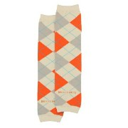 Rugged Butts オレンジ アーガイル/レッグウォーマー グレーミックス(Orange 'Awesome Argyle' LegWarmers)★ラゲッドバッツ...