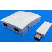 Wireless Wii Classic Controller to PC USB Adapter ( Wiiクラシックコントローラーを有効活用 )