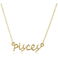 [Jules Smith] Jules Smith ZODIAC NECKLACE-PISCES JSD1090Y_PIC