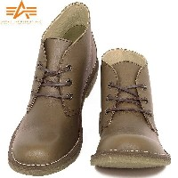 ALPHA INDUSTRIES アルファ AF1950 DESERT BOOTS デザートブーツ BROWN 《WIP》 【送料無料】 ミリタリー 男性 ギフト プレゼ...