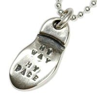 (バッサー) VASSER Soul Words Pendant Silver(ソウルワーズペンダントシルバー) w/Chain [MY WAY MY PACE]