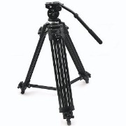 manfrotto 【並行輸入品】ePhoto WF717 Professional Heavy Duty Video Camcorder Tripod 三脚 with Fluid Drag Head