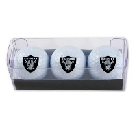 McArthur Sports NFL Raiders 3 Golf Ball Sleeves【ゴルフ ボール】