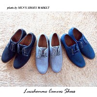 Lucehomme Canvas Casual Lace-up Shoes【RCP】ブラチアーノ キャンバス カジュアル シューズ 送料無料 ネービー ブラウン ...