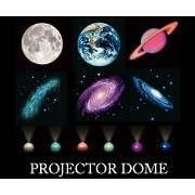 PROJECTOR DOME(プロジェクタードーム)/バスライト/インテリアライト/ルームライト/防滴/プラネタリウム