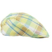 Rugged Butt イエロー帽子ドライバーズキャップ ハンチング ハット キッズ 子供 Daxton Plaid Drivers Cap ★ラゲットバ...