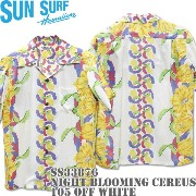 SUN SURF(サンサーフ)アロハシャツ NIGHT BLOOMING CEREUS BORDER OFFWHITE SS33876-105 10P03Dec16