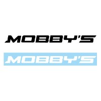 MOBBY'Sステッカー ロゴ 幅350mm