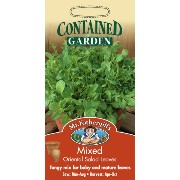 Mr.Fothergill's SeedsContained GARDENMixed Oriental Salad Leavesコンテインド・ガーデンミックス・オリエンタル・サラダ・リ...