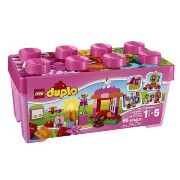 LEGO(レゴ) Duplo Creative Play All-in-One-Pink-Box-of-Fun デュプロ ピンクのコンテナデラックス - 10571