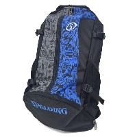 NBA リュック/バックパック グラフィティーブルー スポルディング/SPALDING CAGER BACK PACK