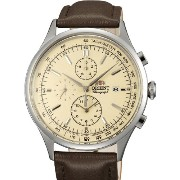 オリエント 時計 腕時計 Orient Monterey Quartz Chronograph with 12-Hour Totalizer and Tachymeter TT0V004Y