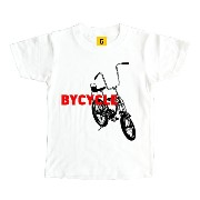 Bycicle【誕生日 プレゼント お祝い キッズ Tシャツ】 おもしろtシャツ 誕生日プレゼント 女性 男性 女友達 おも...