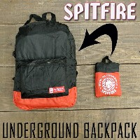 SPITFIRE/スピットファイヤー/スピットファイアー バックパック/BACKPACK UNDERGROUND BACKPACK ECO エコバッグ ナイロンバ...
