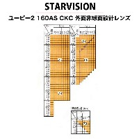 STAR VISION(スタービジョン)非球面メガネレンズ「UP2 1.60AS」