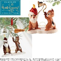WDCC チップ&デール サンタ キャンドル オーナメント プルートのクリスマス ツリー Chip n Dale Little Mischief Maker and...