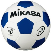 MIKASA ミカサ ジュニアサッカーボール 4号 軽量球 約250g SVC403-WB 【取り寄せ品】