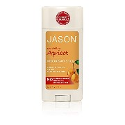 Jason Natural Products Apricot & E Baking Soda Stick Deodorant 75 ml (並行輸入品)