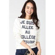 MAISON KITSUNE SWEAT JE SUIS ALLEE【イエナ/IENA Tシャツ・カットソー】