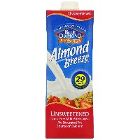 Blue Diamond Almond Milk Unsweetened 1000 ML (order 12 for trade outer) / ブルーダイヤモンドアーモンドミルク無糖1000mlの(貿易...