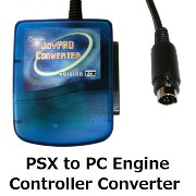 【CXD0224】PCエンジンでPS/PS2コントローラーが使用可能 PSX to PC Engine Controller Converter
