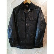 【SALE 30%OFF】★送料無料★ BELAFONTE/GOAT LEATHER HUNTING JK BLACK