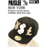 PAISLEE BRAND CAP USA VINTAGE FRAMES COMPANY USA PAISLEE BRAND YSL GOLD【ペーズリー ペイズリー】 VINTAGE FRAMES 9FIFTYキャップ SNAPBACK...