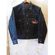 SUGAR CANE シュガーケン /14.25oz DENIM JKT 1953MODEL NAVY ONEWASH