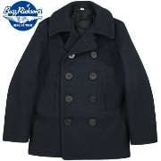 """BUZZ RICKSON'S/バズリクソンズ ENLISTED MAN'S OVERCOAT TYPE PEA COAT """"NAVAL CLOTHING FACTORY"""" P-COAT/ピーコート 01)NAVY/BR11554"""