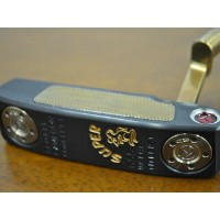 送料無料★スコッティーキャメロン パター ツアー SCOTTY CAMERON SUPER RAT GSS INSERT BLACK MIST & CHROMATIC BRONZE WELLDED NECK