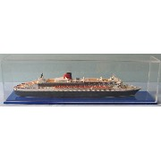 Scherbak 1/1250 クイーンメリー2(Queen Mary 2 Cunard Line, 2003. With extended bridge wings after 2006 modification)